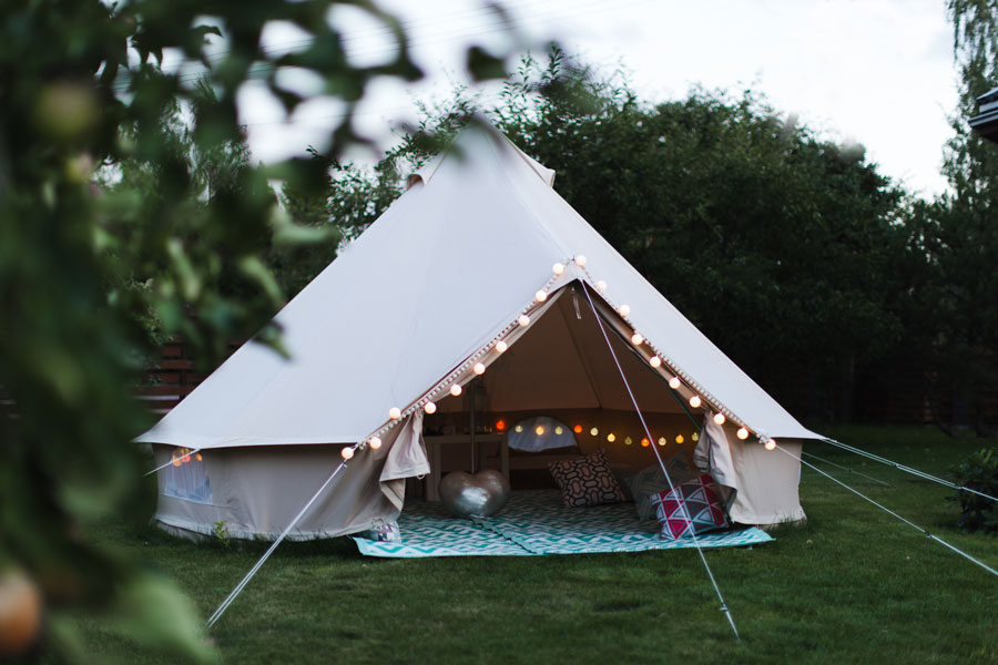 campsite near ely, cambridgeshire