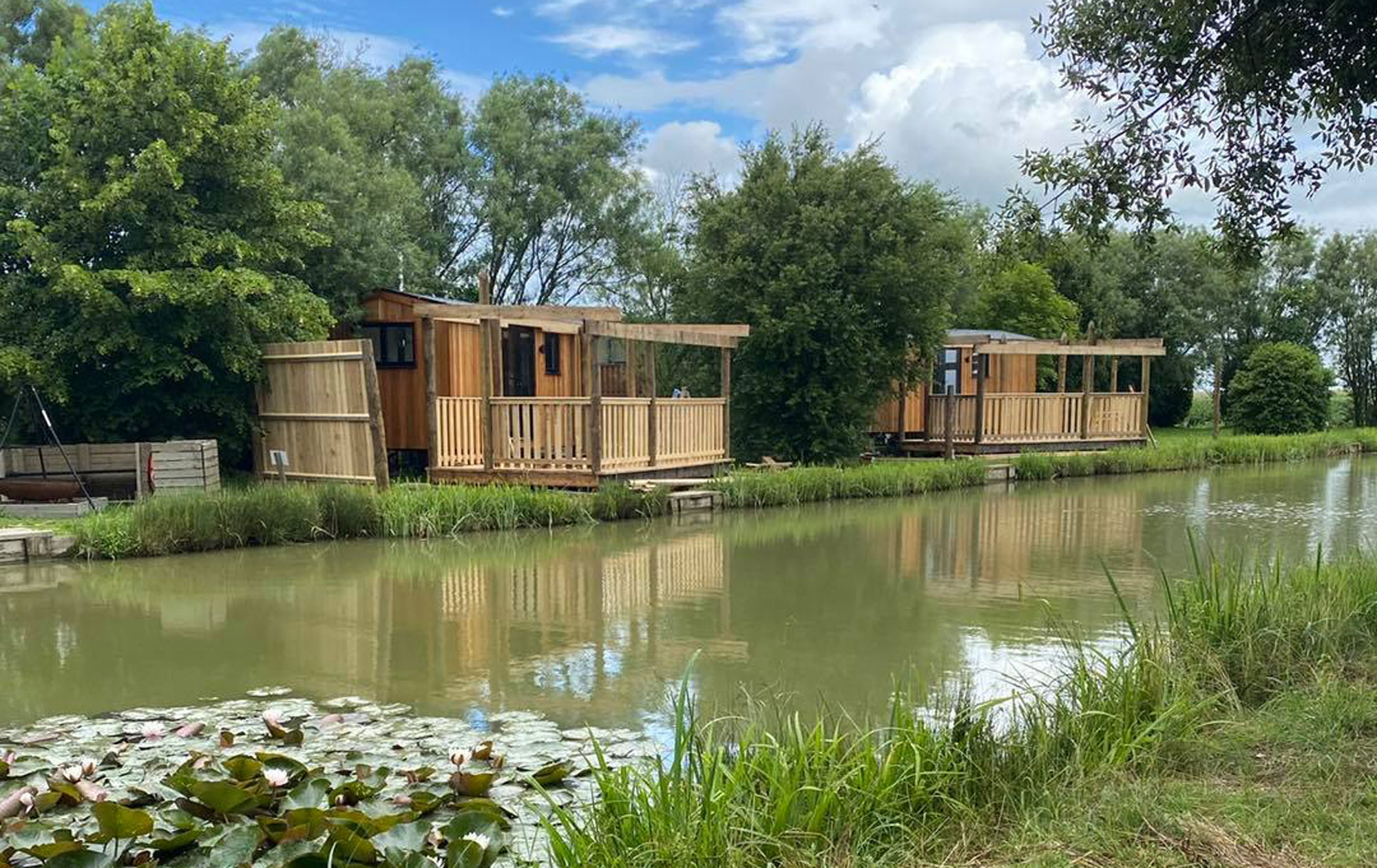shepherds huts at head fen country retreat