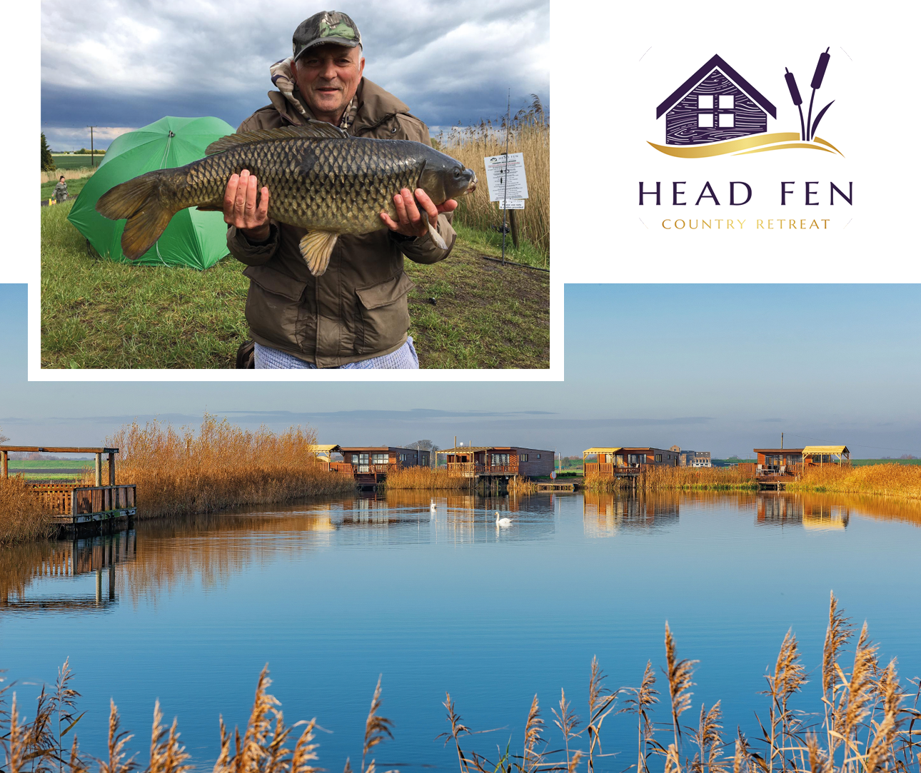 private fishing lodges in cambridgeshire and norfolk